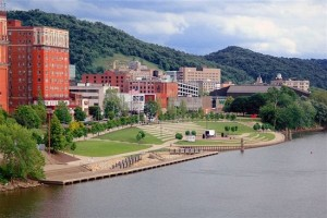 Although I give it a fictional name in the novel, this book takes place in a city based on Wheeling, West Virginia, USA.